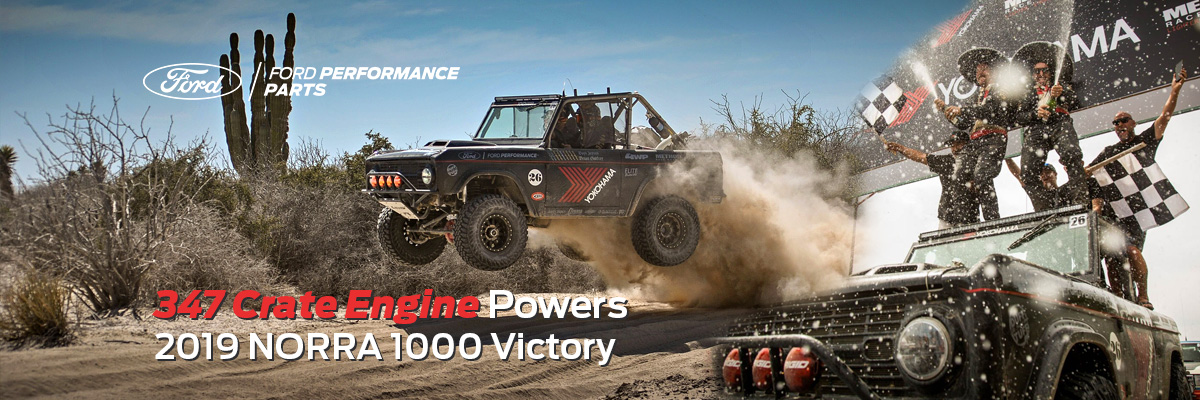 347 Crate Engine Powers 2019 NORRA 1000 Victory
