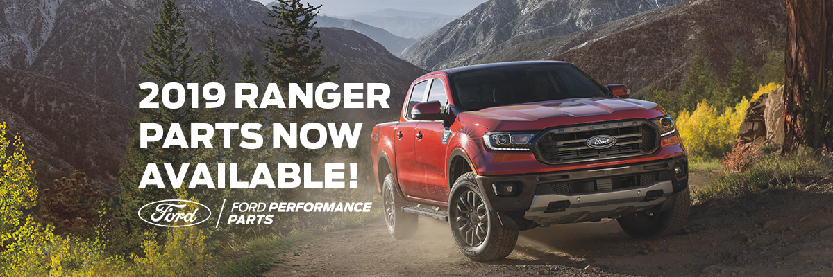 2019 Ranger Parts by Ford Performance