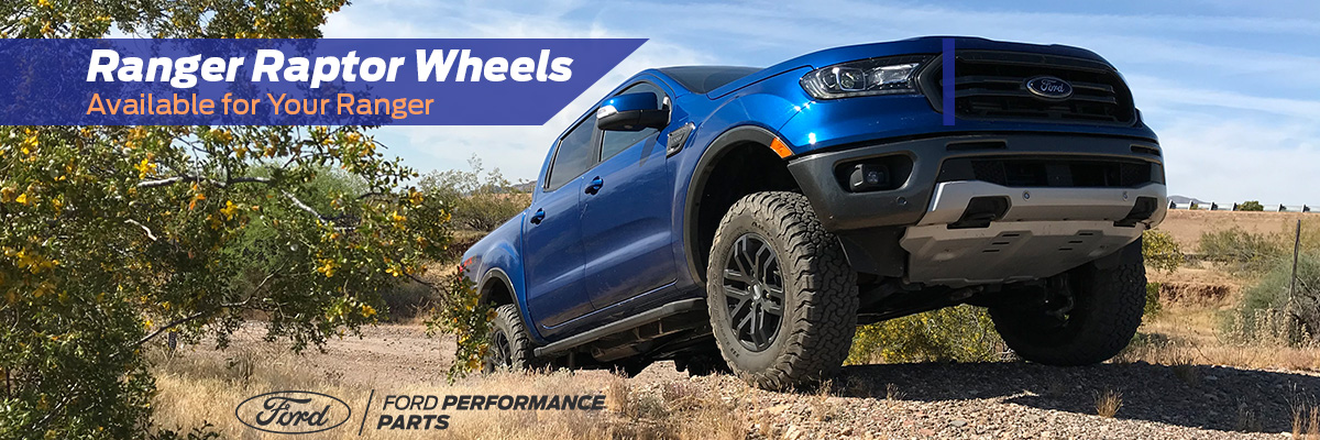 Ranger Raptor Wheels Available for Your Ranger