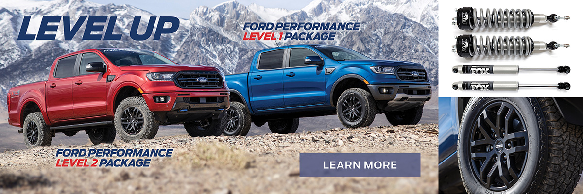 Ford Performance Ranger Packages