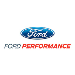 "FORD RACING VINYL DIE-CUT 15"" DECAL 2 PACK"