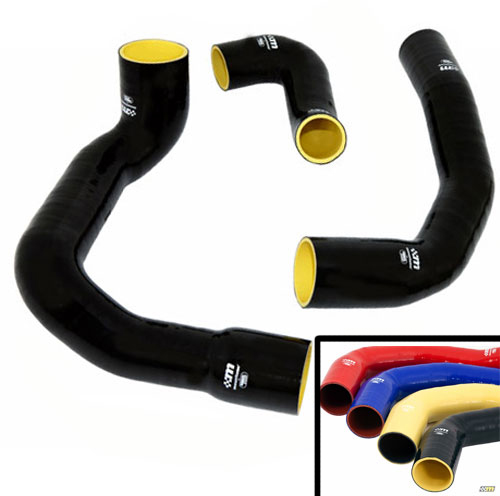 2013-2017 FOCUS ST MOUNTUNE ULTRA HIGH-PERFORMANCE SILICONE BOOST HOSE KIT - BLUE