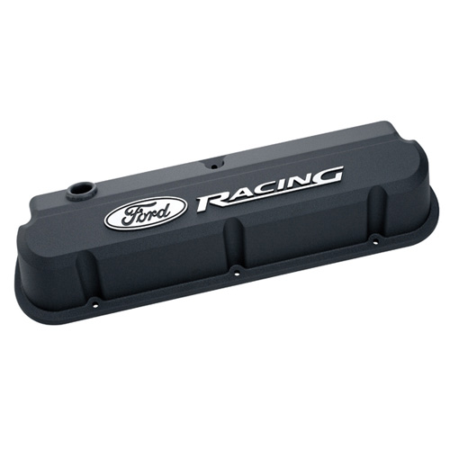 FORD RACING 289-351 SLANT EDGE VALVE COVER BLACK