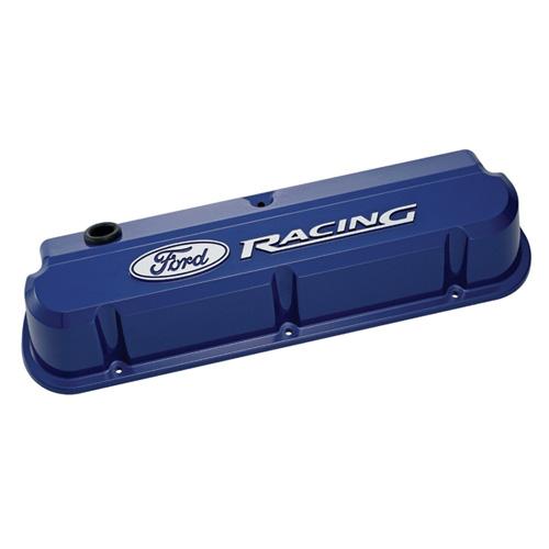 FORD RACING 289-351 SLANT EDGE VALVE COVER BLUE| Part