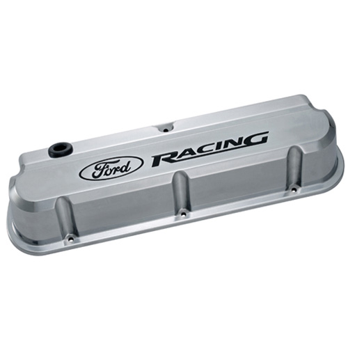 FORD RACING 289-351 SLANT EDGE VALVE COVER POLISHED