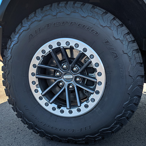 2019-2020 F-150 RAPTOR BEAD-LOCK WHEEL KIT