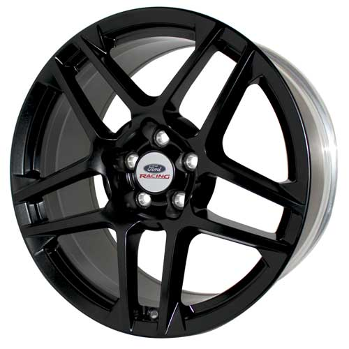 "MUSTANG SHELBY GT500 19"" X 9.5"" 5 SPOKE WHEEL - MATTE BLACK"