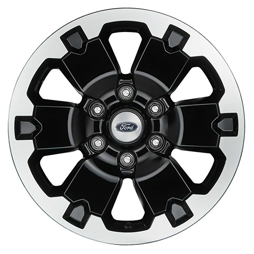 "RANGER 18"" BLACK MACHINED FACE WHEEL KIT"