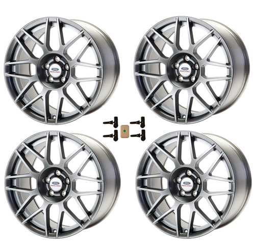 MUSTANG SVT 19X9 FRONT 19X10 REAR WHEEL SET WITH TPMS SENSOR KIT