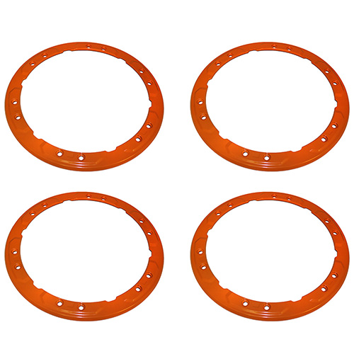 2017-2018 RAPTOR BEAD LOCK WHEEL TRIM RING SET - ORANGE