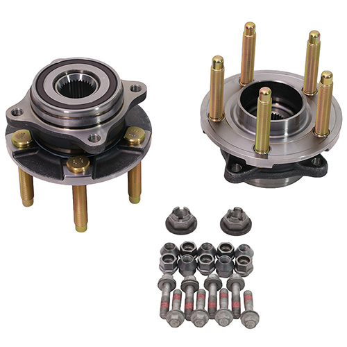 2015-2019 MUSTANG REAR WHEEL HUB KIT WITH ARP STUDS