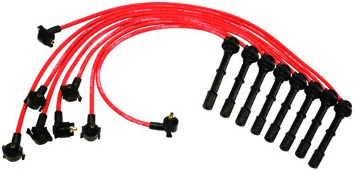 "9MM SPARK PLUG WIRE SETS - ""FORD RACING"""