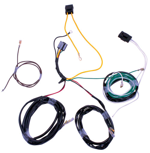 F-SERIES AUX LIGHT HARNESS WITHOUT OEM SWITCHES