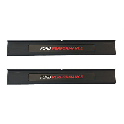 2015-2018 MUSTANG FORD PERFORMANCE SILL PLATE SET