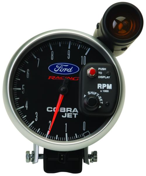 "MUSTANG COBRA JET 5"" TACHOMETER W/ SHIFT LIGHT"