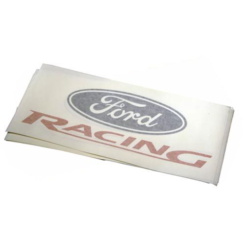 Ford racing vinyl die cut 15 decal 2 pack