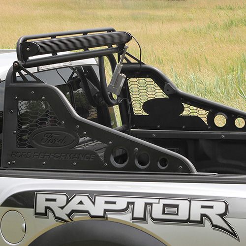 2017-2019 RAPTOR/F-150 RACE SERIES REAR CHASE RACK WITH LIGHT BAR ACTUATOR