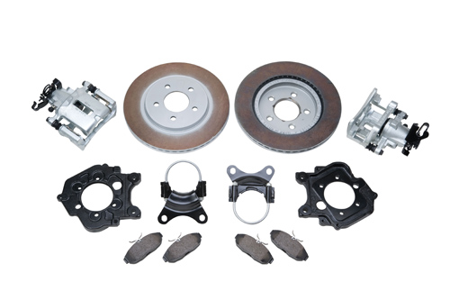5-LUG REAR DISC BRAKE KIT LATE MODEL FORD 9-INCH TRUCK AXLE