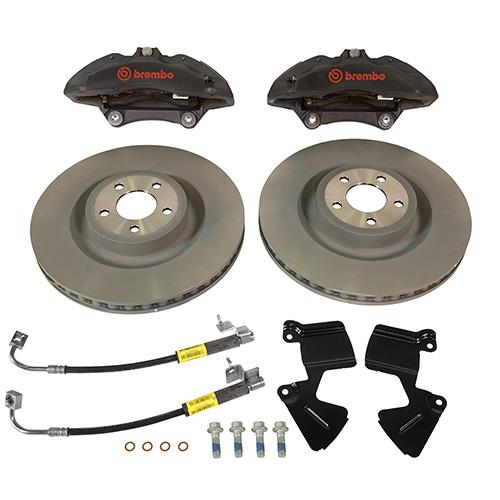 2015 2017 mustang performance pack 6 piston front brake kit part details for m 2300 v ford. Black Bedroom Furniture Sets. Home Design Ideas