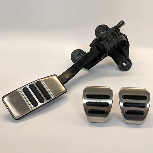 MUSTANG ALUMINUM PEDAL KIT-MANUAL TRANSMISSION