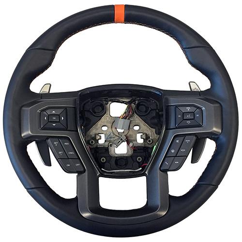 Raptor Performance Steering Wheel Kit Orange Sightline