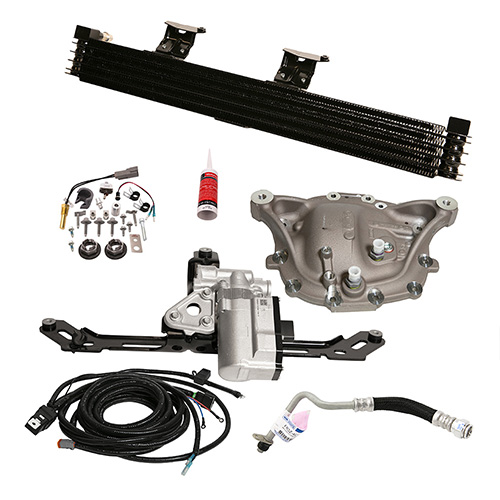 GT350 DIFFERENTIAL COOLER KIT