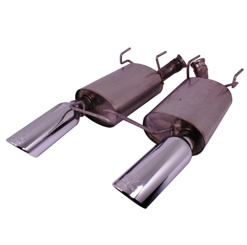 2011-2014 MUSTANG V6 TOURING MUFFLERS (50 STATE)