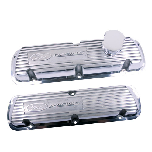 POLISHED ALUMINUM VALVE COVERS