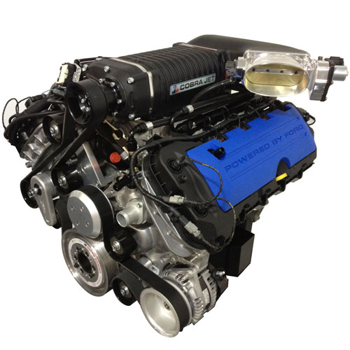 2013 5.0L TI-VCT COBRA JET SUPERCHARGED ENGINE