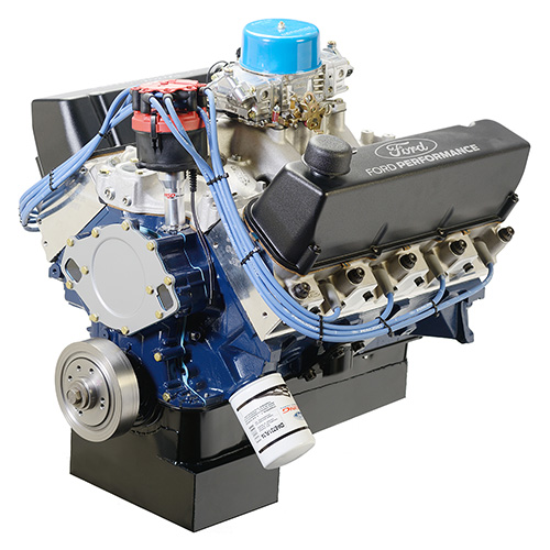 572 CUBIC INCH 655 HP BIG BLOCK STREET CRATE ENGINE-REAR