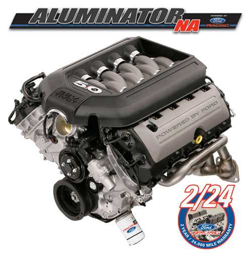 5.0L COYOTE ALUMINATOR NA CRATE ENGINE REPLACED BY M-6007-A50NAA
