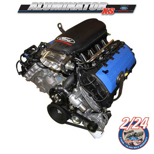 5.0L ALUMINATOR XS CRATE ENGINE 500HP