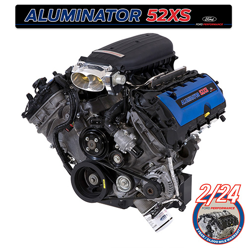 5 2L ALUMINATOR 5 2 XS CRATE ENGINE| Part Details for M-6007-A52XS