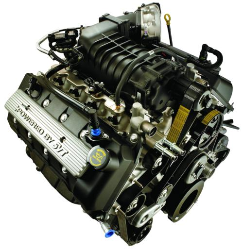 5.4L 2009 MUSTANG SVT SUPERCHARGED DOHC ENGINE