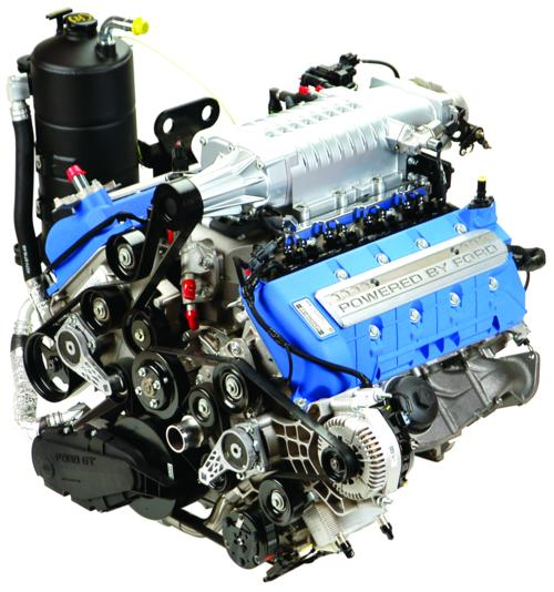 Ford Gt 5 4l Supercharged Engine 550hp