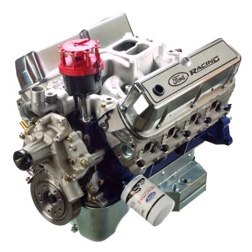 347 cubic inch 350 hp sealed crate engine part details for m 6007 rh performanceparts ford com gm performance parts circle track crate engine technical manual Circle Track Engine On Street