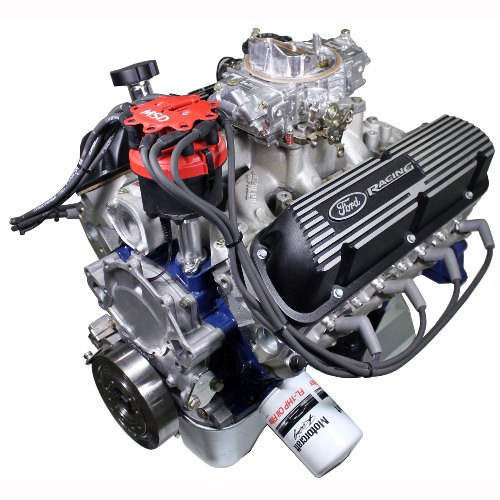 X2347D STREET CRUISER-DRESSED CRATE ENGINE WITH X2 HEADS