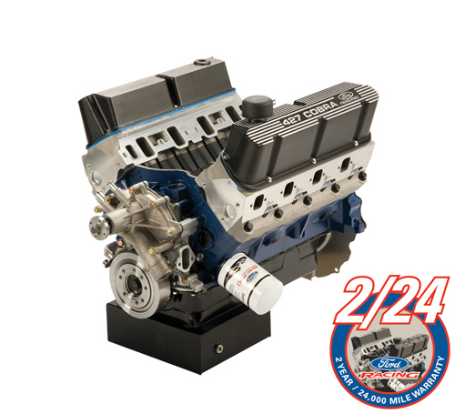 427 CUBIC INCH 450 HP X HEAD CRATE ENGINE FRONT SUMP