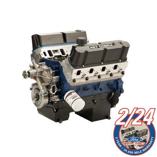 427 CUBIC INCH 450HP X-HEAD CRATE ENGINE REAR SUMP