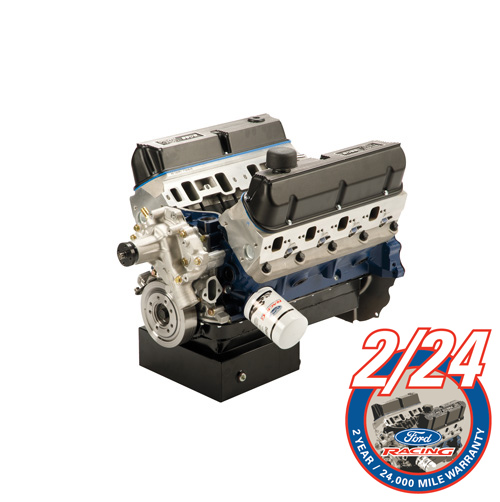 363 CUBIC INCH 500 HP BOSS CRATE ENGINE FRONT SUMP