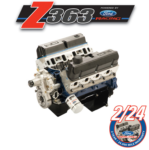 363 CUBIC INCH 500 HP BOSS CRATE ENGINE REAR SUMP