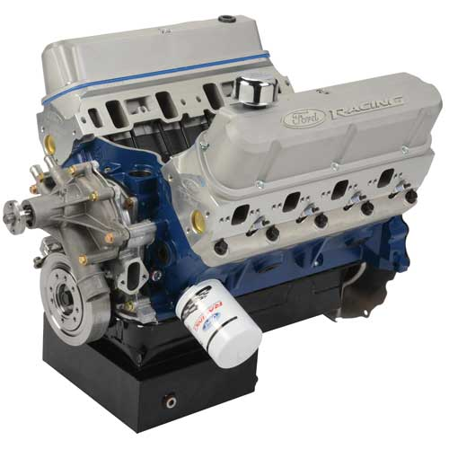 460 CUBIC INCH 575 HP BOSS CRATE ENGINE-FRONT SUMP PAN ...