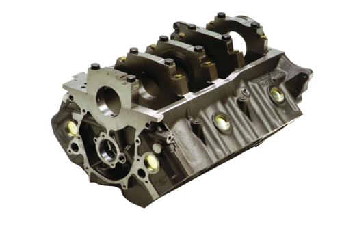 "351 SIAMESE BORE BLOCK 9.2"" DECK WET SUMP"