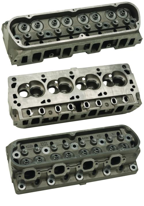 "N351 FORD RACING ""SPORTSMAN"" SHORT TRACK CAST IRON CYLINDER HEAD"