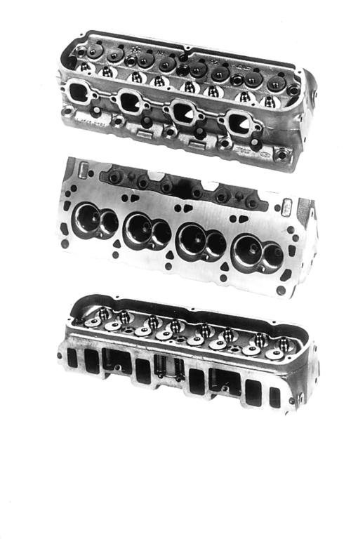 "FORD RACING ""SPORTSMAN"" SHORT TRACK CAST IRON CYLINDER HEADS"