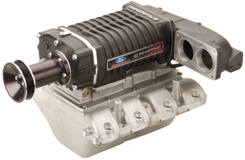 2008-2009 MUSTANG GT 550 HP SUPERCHARGER POLISHED
