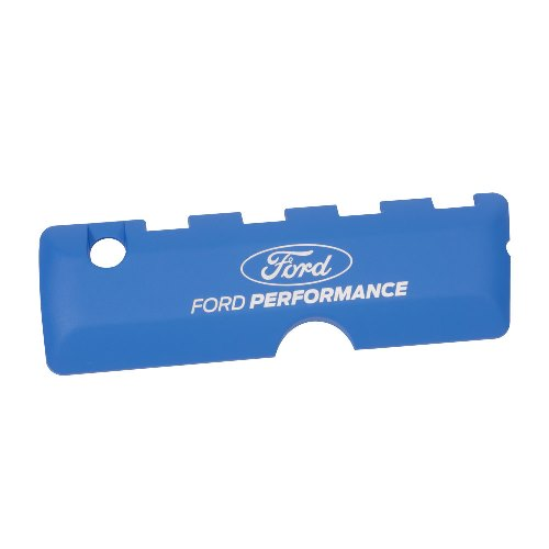 5.0L COYOTE BLUE COIL COVER – FORD PERFORMANCE LOGO
