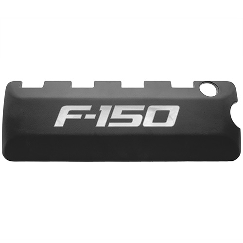 5.0L COYOTE BLACK COIL COVERS - 2011-2014 F-150 LOGO