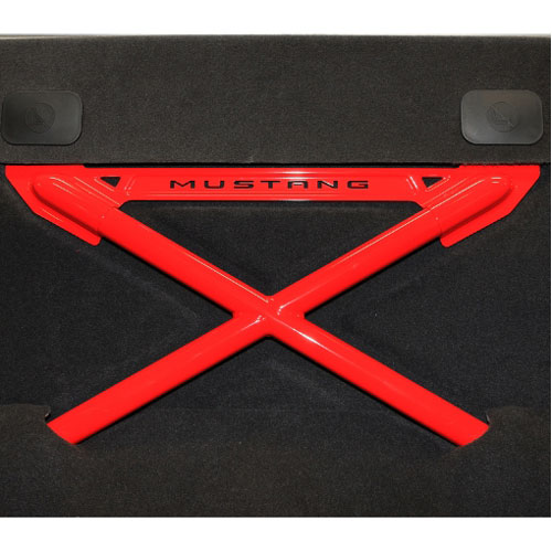 2005-2013 MUSTANG REAR SEAT DELETE KIT WITH X-BRACE