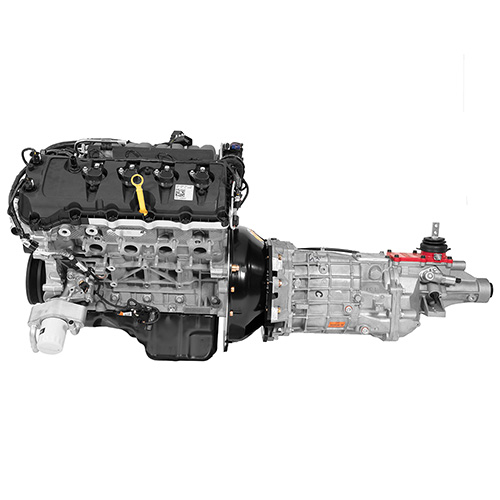 M 9000 PMCM FULL gen 2 5 0l coyote power module with 6 speed manual transmission